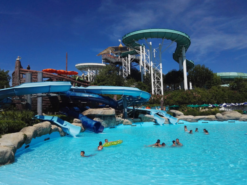 Aquafan and Oltremare water fun park